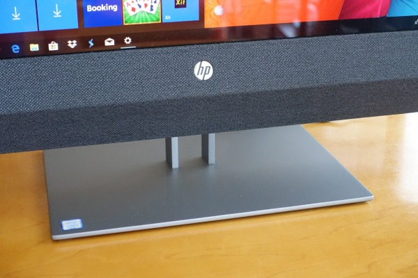 HP Pavilion All-in-One 27の台座部分