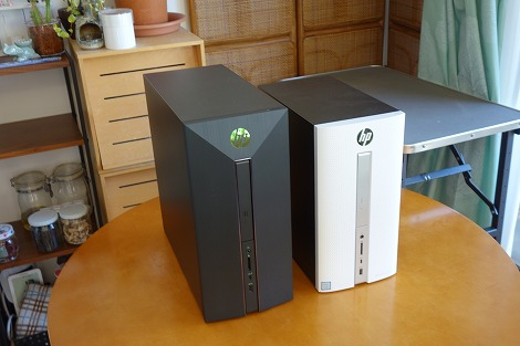 HP Pavilion 570 Pavilion Power 580比較