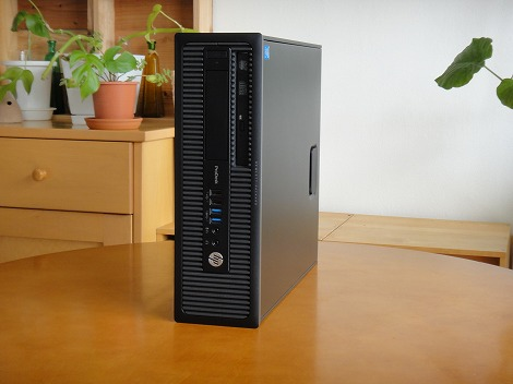 HP ProDesk 600 G1 SF/CTレビュー